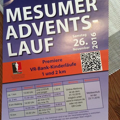 Mesumer Adventslauf