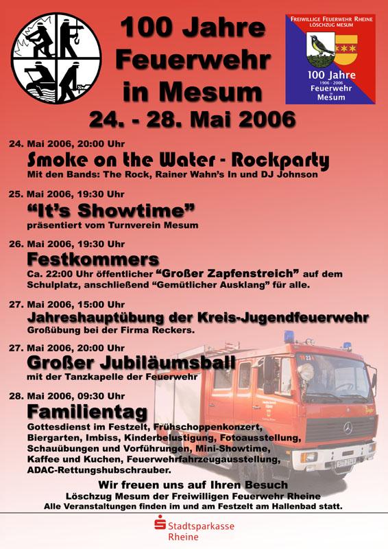 Feuerwehrjubiläum Mesum
